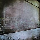 Grunge Toronto - Jack Layton Chalk Memorial by thebrink