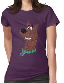 Scooby-Doo Womens Fitted T-Shirt