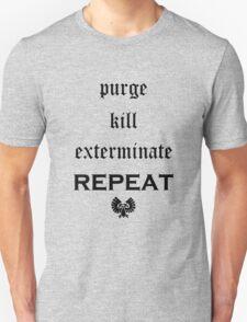Purge-kill-exterminate black, Warhammer 40K Unisex T-Shirt