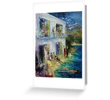 The White Hotel. Greeting Card