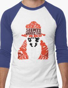 Rorschach Men's Baseball ¾ T-Shirt