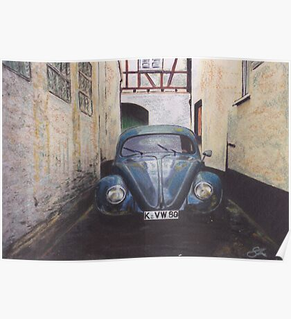 Urban Alley Poster