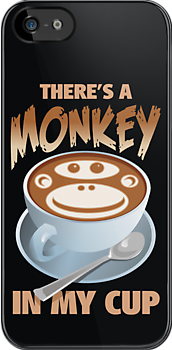 There's a monkey in my cup by Matt Mawson