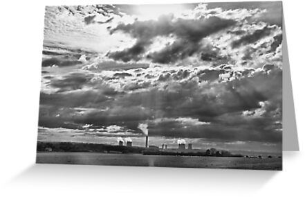 Big Sky - Didcot by Colin  Williams Photography