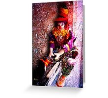 GHETTO CLOWN 2 Greeting Card