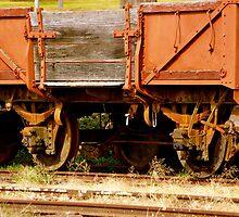 Retired Rail Cart by Matt Hill