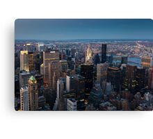 Skyscrapers, New York, USA  Canvas Print