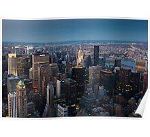 Skyscrapers, New York, USA  Poster
