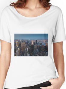 Skyscrapers, New York, USA  Women's Relaxed Fit T-Shirt