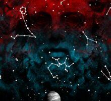 Stargazing Sticker