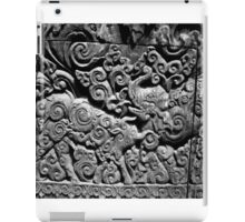 unique motif old wooden wall  iPad Case/Skin