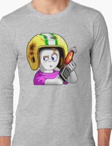 Commander Keen HD - Retro DOS game fan items Long Sleeve T-Shirt