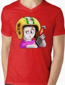Commander Keen HD - Retro DOS game fan items Mens V-Neck T-Shirt