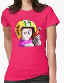 Commander Keen HD - Retro DOS game fan items Womens Fitted T-Shirt