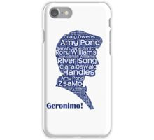 Geronimo, 11th Doctor, Doctor Who iPhone Case/Skin