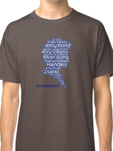 Geronimo, 11th Doctor, Doctor Who Classic T-Shirt