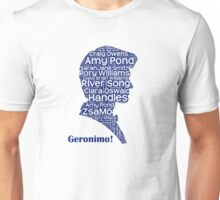 Geronimo, 11th Doctor, Doctor Who Unisex T-Shirt