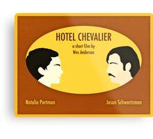 Hotel Chevalier Metal Print