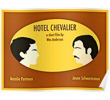 Hotel Chevalier Poster