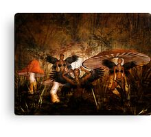 Surrounded by Mystery Canvas Print