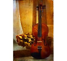 Music is Love Photographic Print