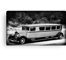 THE LIMO NEXT DOOR Canvas Print