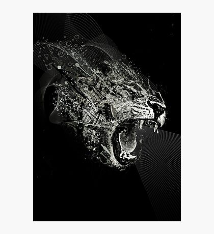 Fierce! Photographic Print