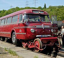 Railbus at Bochum Railway Museum, Germany. by David A. L. Davies