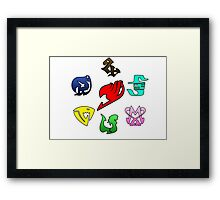 Fairy Tail Framed Print