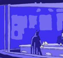 night bat Sticker