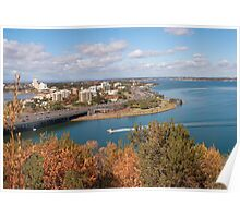 View from Kings Park Poster