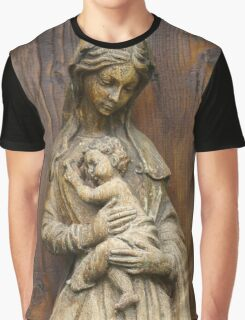 Mary And Jesus Graphic T-Shirt