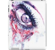 Eye damage iPad Case/Skin