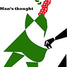 Man's thought by Fathers