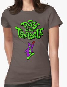 Maniac Mansion - Day of the Tentacle Womens Fitted T-Shirt
