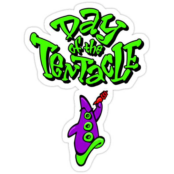 Maniac Mansion - Day of the Tentacle by hangman3d