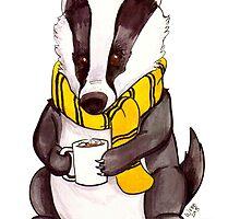 Badger House Mascot by FiendishArt