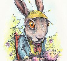 March Hare in May by Steve Wilbur