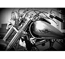 Kawasaki Vulcan Motorcycle © Photographic Print