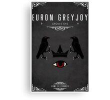 Euron Greyjoy Personal Sigil Canvas Print