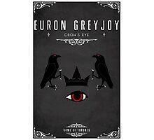 Euron Greyjoy Personal Sigil Photographic Print