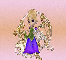 Little May Fairy .. iPhone case by LoneAngel