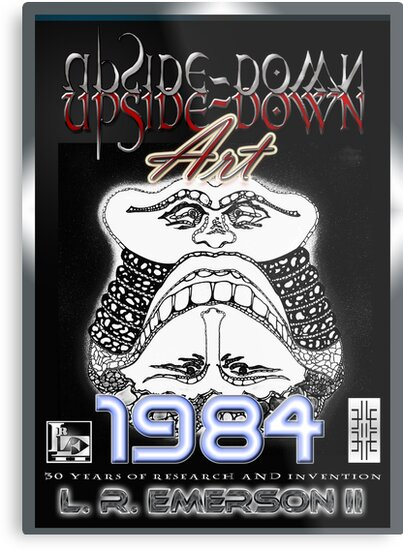 Upside-Down Drawing and Masg Art by acclaimed artist L. R. Emerson II. by L R Emerson II