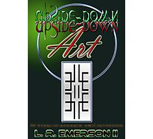 Upside-Down Drawing and Masg Art by American Artist L. R. Emerson II. Photographic Print