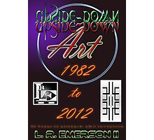 Upside-Down Drawing and Masg Art  by 21st Century artist L. R. Emerson II. Photographic Print