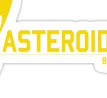 Asteroid Miner Sticker