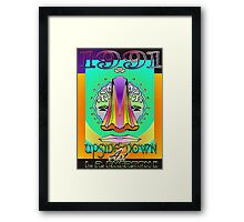 Upside-Down Artwork and Masg Art by internationally acclaimed artist L. R. Emerson II.  Framed Print