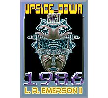 Upside-Down Arwork, Drawing and Masg Art by internationally acclaimed artist L. R. Emerson II.  Photographic Print