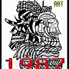 Upside-Down Artwork, Drawing and Masg Art by internationally acclaimed artist L. R. Emerson II.  by L R Emerson II