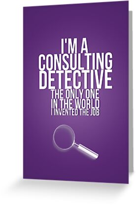 The Only Consulting Detective by doomslock